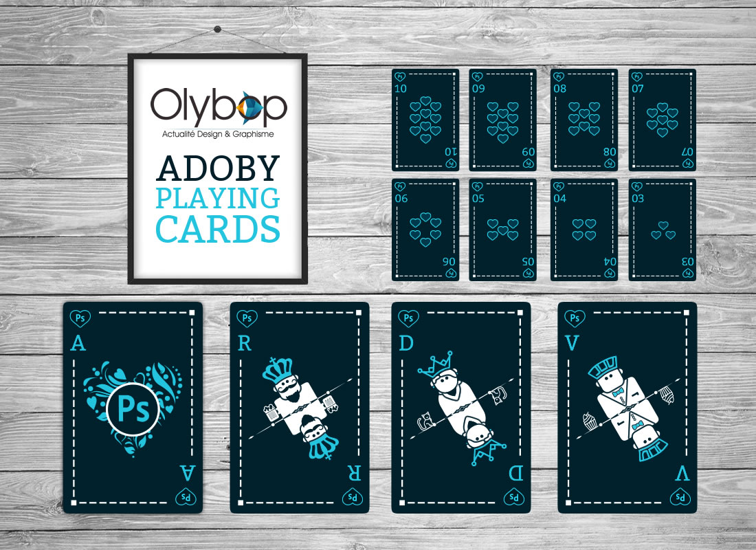 Un jeu de cartes à jouer ADOBE pour les Graphistes (ou pas) 3