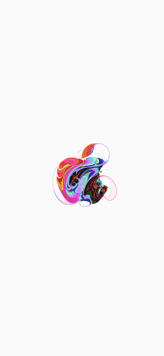 Interprétations du logo Apple pour des fonds d'écrans magnifiques ! 2