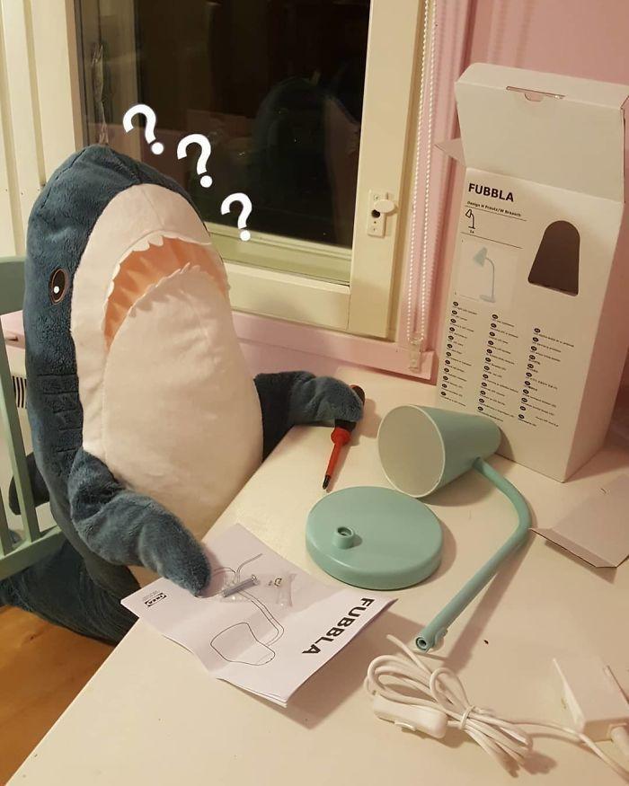 Quand la nouvelle peluche requin Ikea Blåhaj devient Viral 14