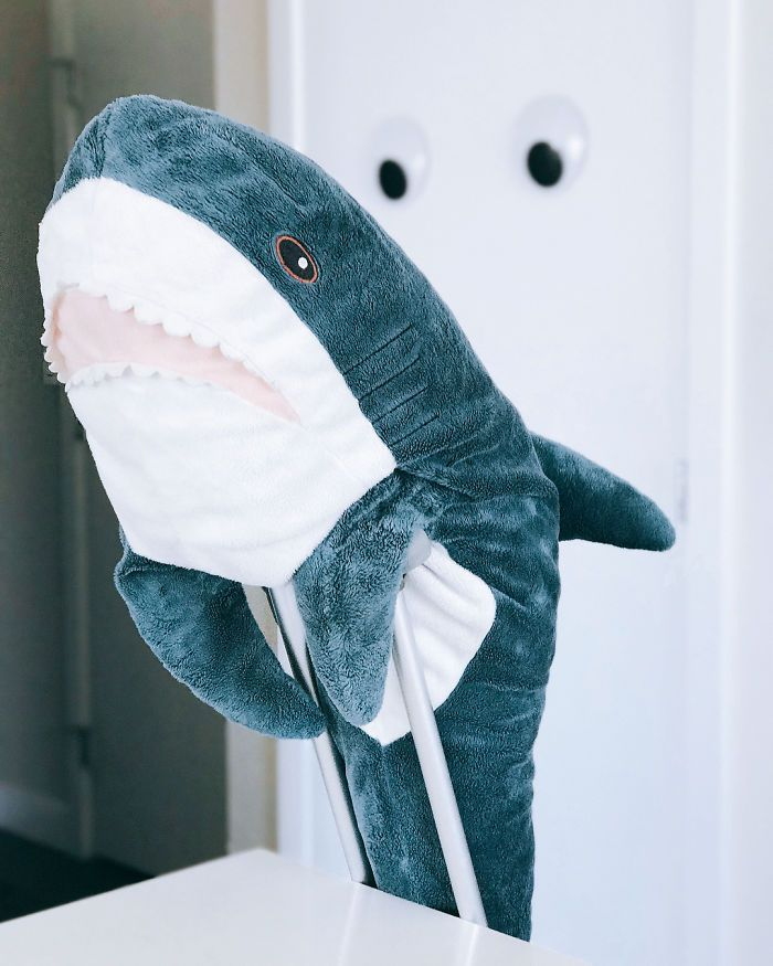 Quand la nouvelle peluche requin Ikea Blåhaj devient Viral 20