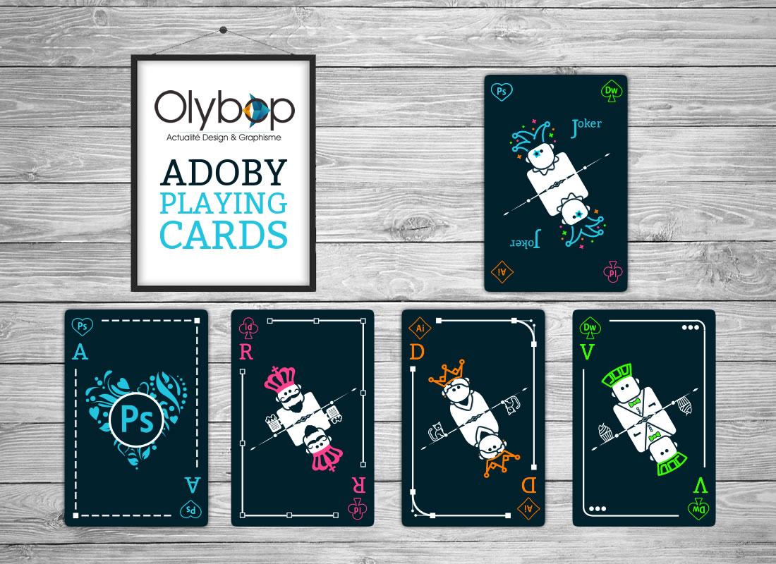 Un jeu de cartes à jouer ADOBE pour les Graphistes (ou pas) 4
