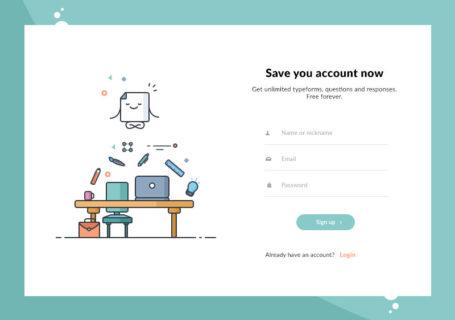 Inspiration : UX/UI les bonnes pratiques d'un formulaire de connexion (Login Form) 4
