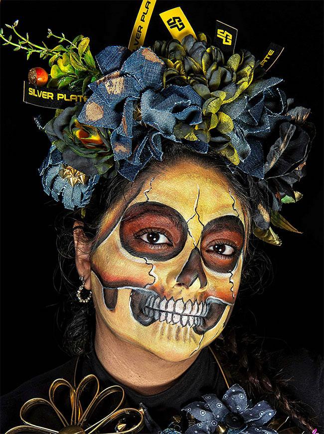 Portraits magnifiques de la Fête des morts au Méxique 2