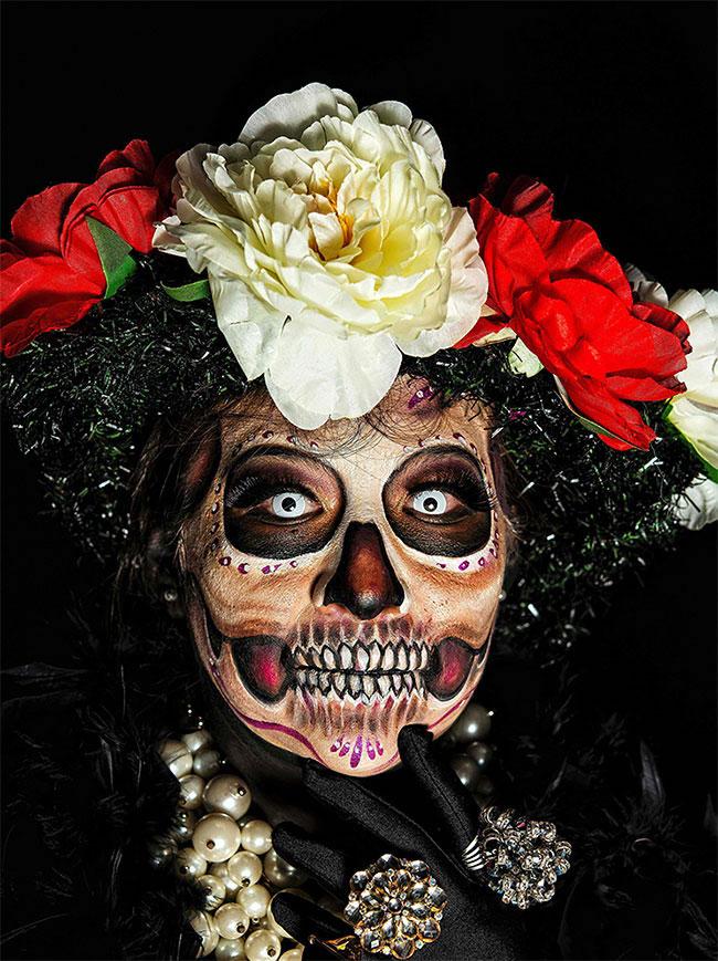Portraits magnifiques de la Fête des morts au Méxique 3