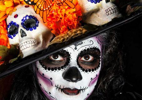 Portraits magnifiques de la Fête des morts au Méxique