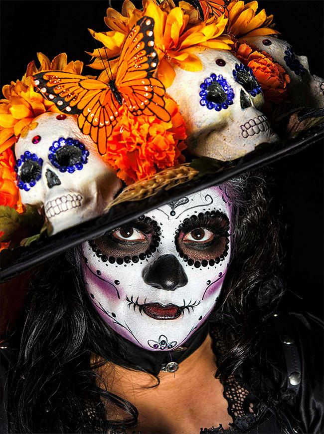 Portraits magnifiques de la Fête des morts au Méxique 4