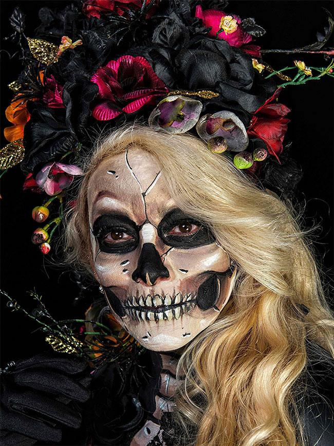 Portraits magnifiques de la Fête des morts au Méxique 5