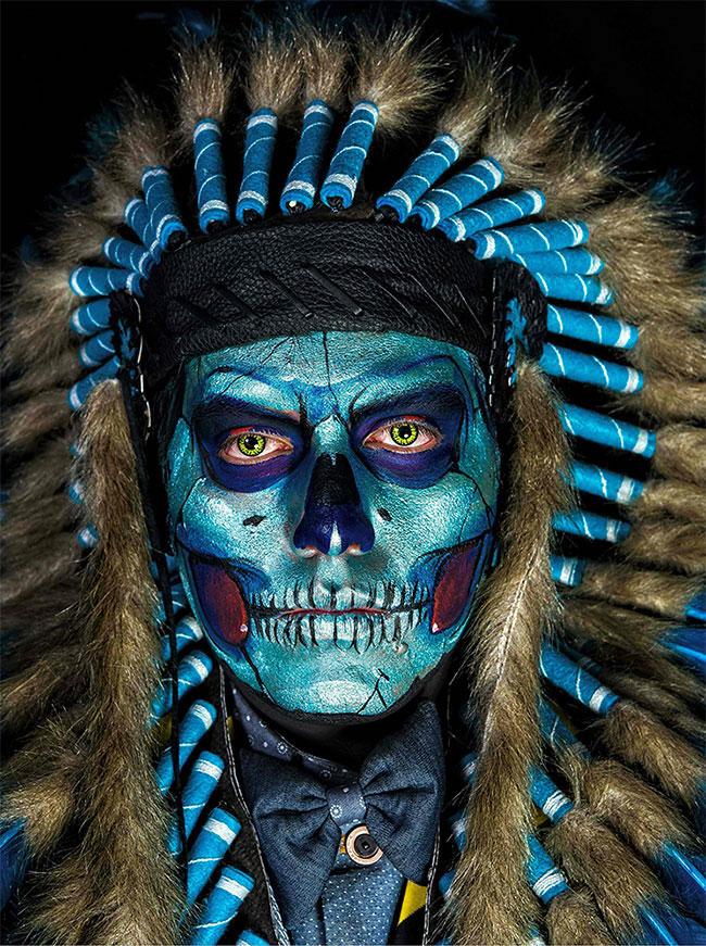Portraits magnifiques de la Fête des morts au Méxique 7