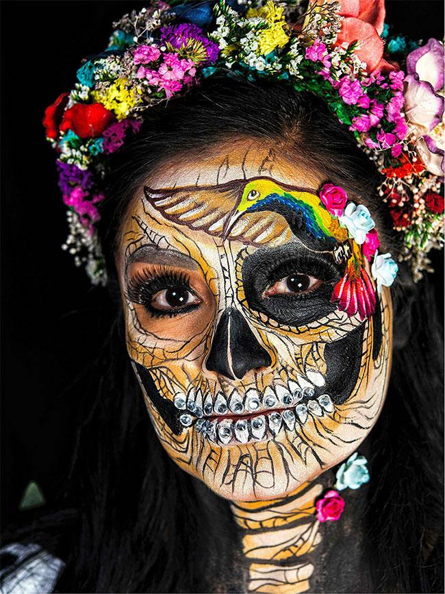 Portraits magnifiques de la Fête des morts au Méxique 9