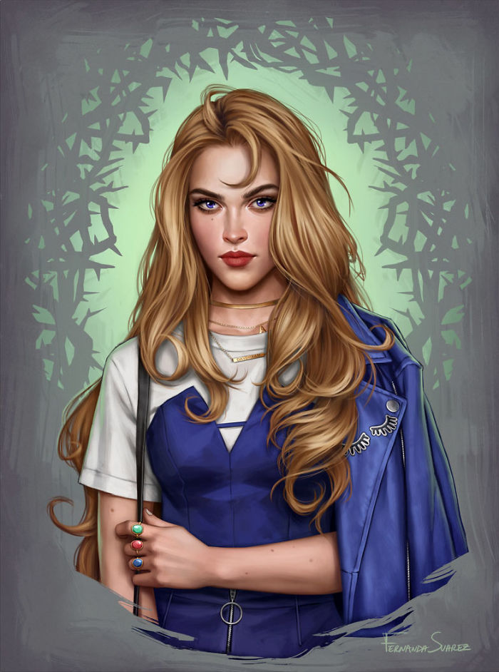 À quoi ressembleraient les Princesses DISNEY avec un style 2018 ? 11