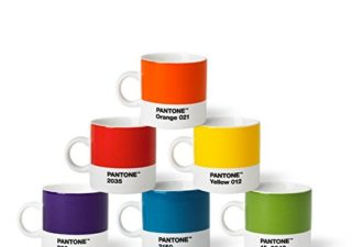 Lot de 6 Tasses Pantone 1
