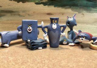 Scupltures de Tom (et Jerry) dans des formes improbables et hilarantes 1