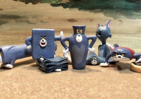 Scupltures de Tom (et Jerry) dans des formes improbables et hilarantes 4