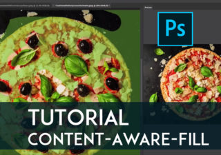 Tutorial Photoshop - Comment utiliser l'outil Content Aware Fill ? 1