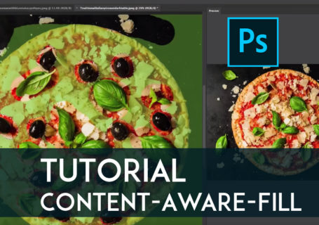Tutorial Photoshop – Comment utiliser l'outil Content Aware Fill ?