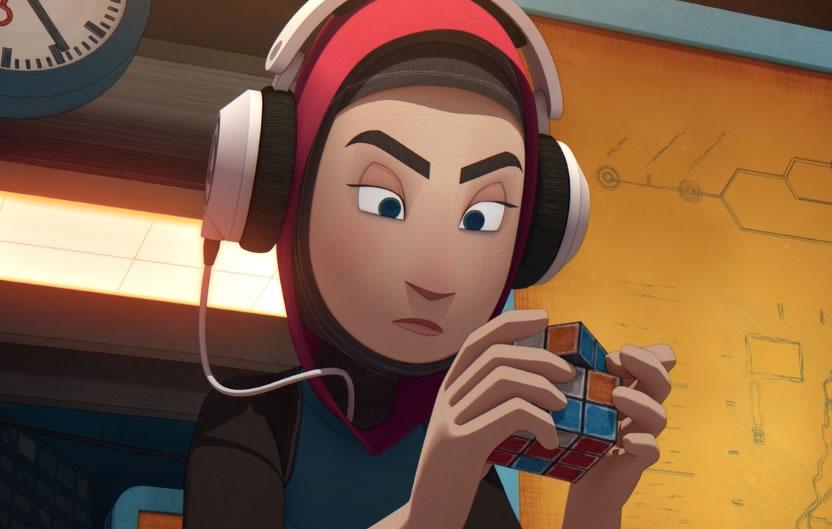Scrambled - Un Court métrage d'un rubik's cube et de l'évolution du jeu 2