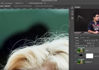 L'outils Gomme Photoshop pour supprimer un arrière plan proprement 1