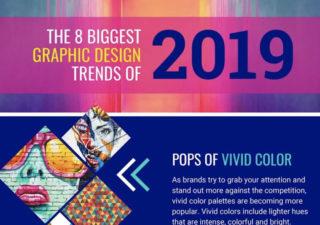 [Infographie] 8 Tendances graphiques pour 2019 1