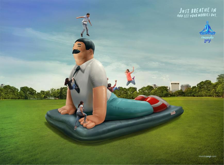 110 affiches publicitaires créatives et originales d'octobre 2018 104