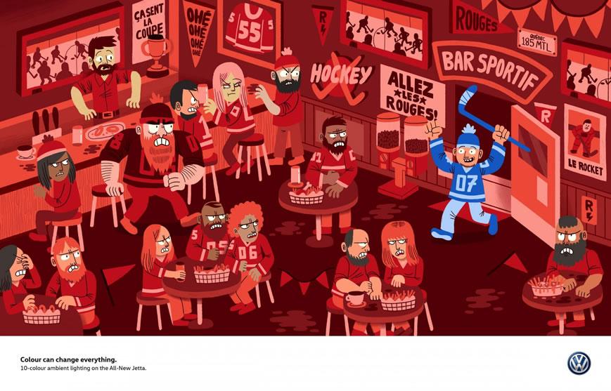 110 affiches publicitaires créatives et originales d'octobre 2018 97