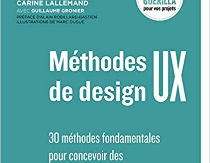 30 méthodes fondamentales UX Design 12