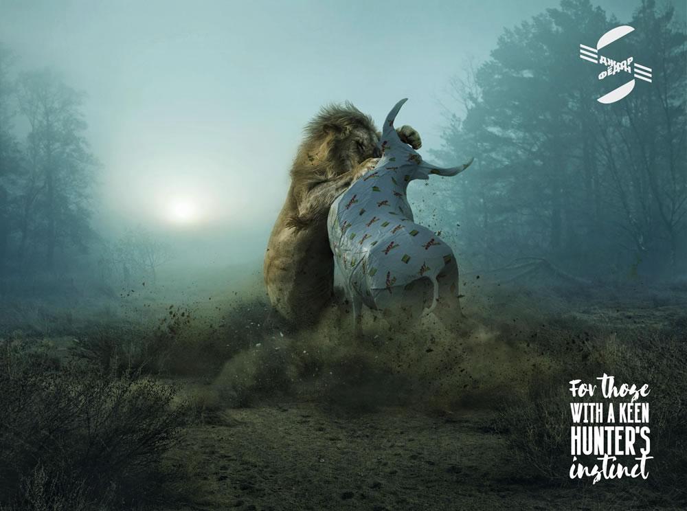 90 affiches publicitaires créatives et originales de décembre 2018 53