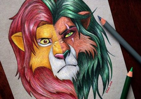 Dessin : Mixer les visages des personnages de dessins animés