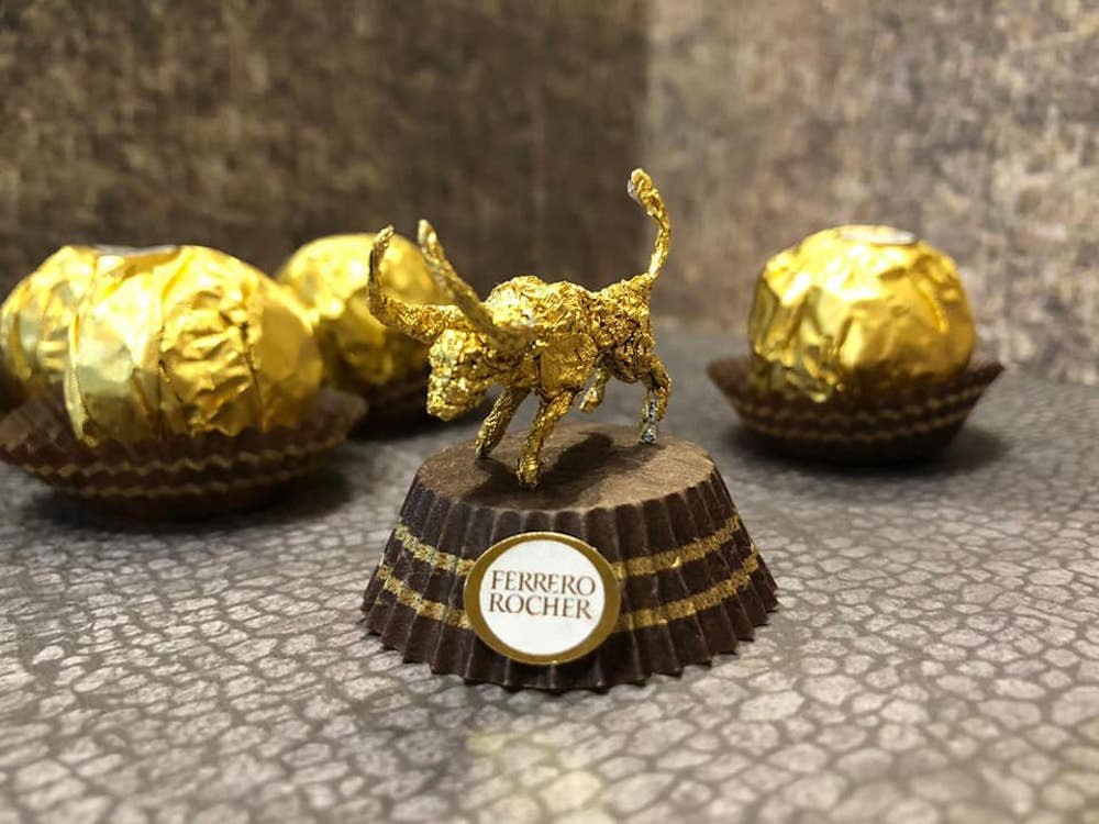 Les sculptures en Ferrero rocher par Ciro Wai 10