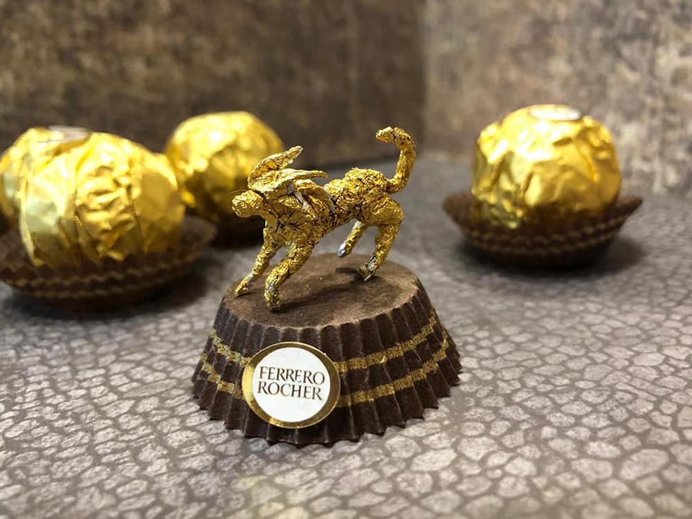 Les sculptures en Ferrero rocher par Ciro Wai 7