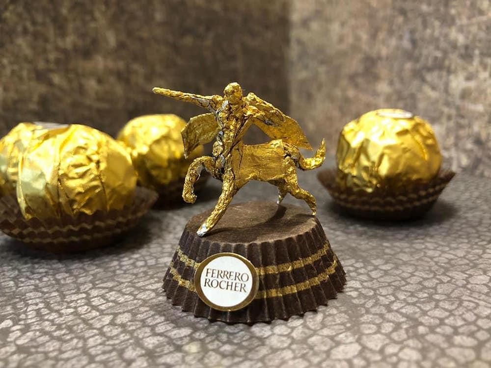 Les sculptures en Ferrero rocher par Ciro Wai 3