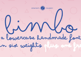 Bimbo - Typographie Gratuit manuscrite mignonne 1
