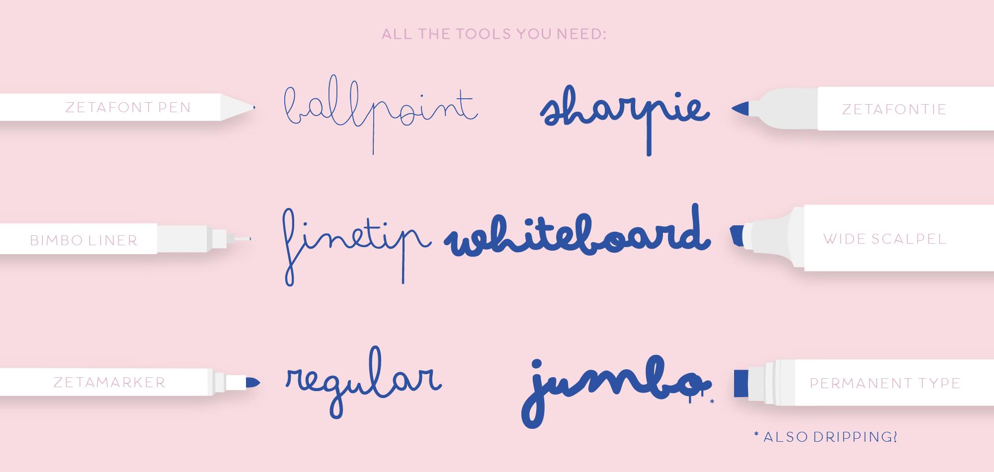 Bimbo - Typographie Gratuit manuscrite mignonne 2