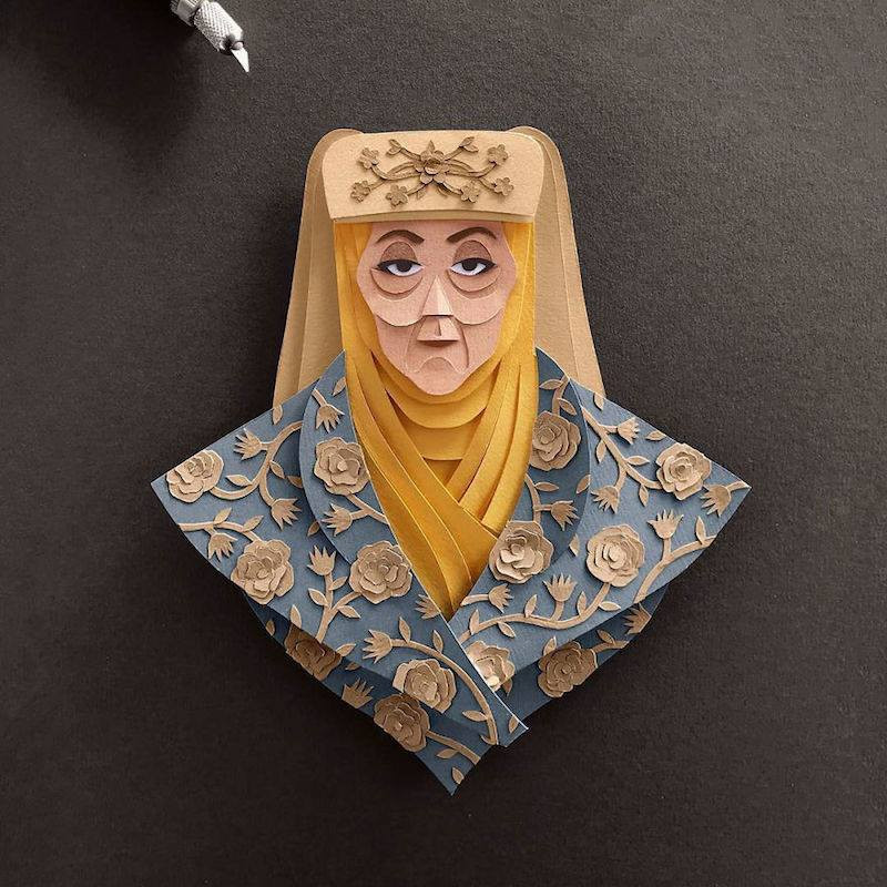 Paper Toys Game of Thrones : Les portraits des personnages en Papier 4