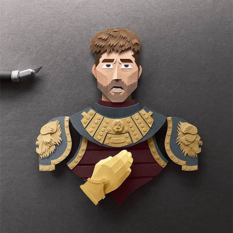 Paper Toys Game of Thrones : Les portraits des personnages en Papier 5