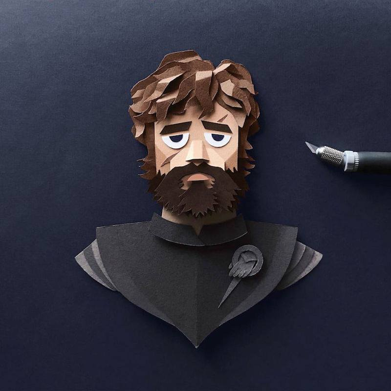 Paper Toys Game of Thrones : Les portraits des personnages en Papier 6