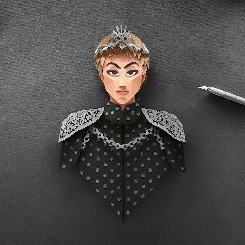 Paper Toys Game of Thrones : Les portraits des personnages en Papier 8