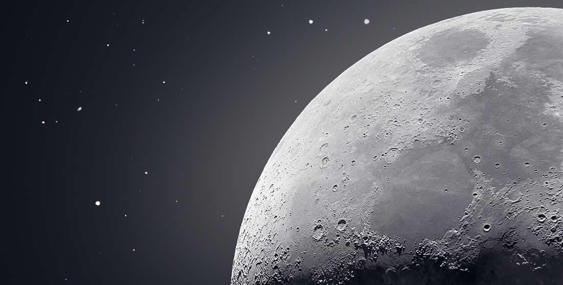 50 000 clichés pour une Photo de la Lune Magnifique 2