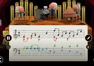 Générateur de musique en hommage à Back - Le Doogle Google utilise l'IA 1