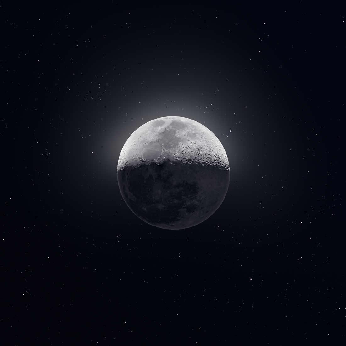 50 000 clichés pour une Photo de la Lune Magnifique 3