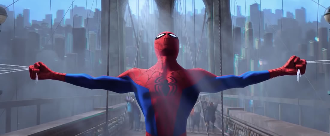 Spider verse making of