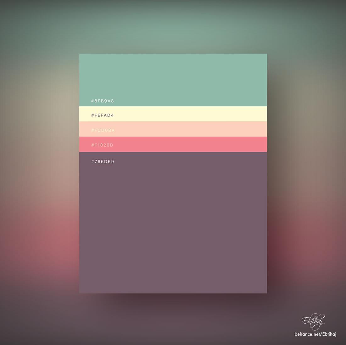Inspiration - Des palettes de couleurs pour vos prochains projets web 2