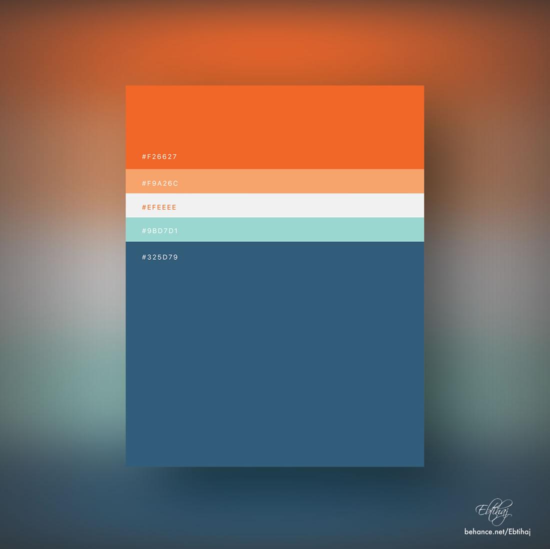 Inspiration - Des palettes de couleurs pour vos prochains projets web 3