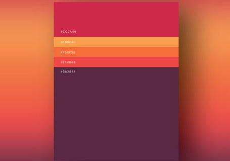 Inspiration – Des palettes de couleurs pour vos prochains projets web