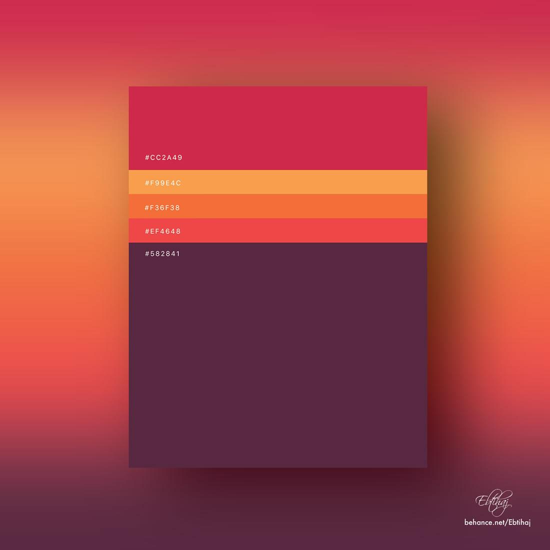 Inspiration - Des palettes de couleurs pour vos prochains projets web 5