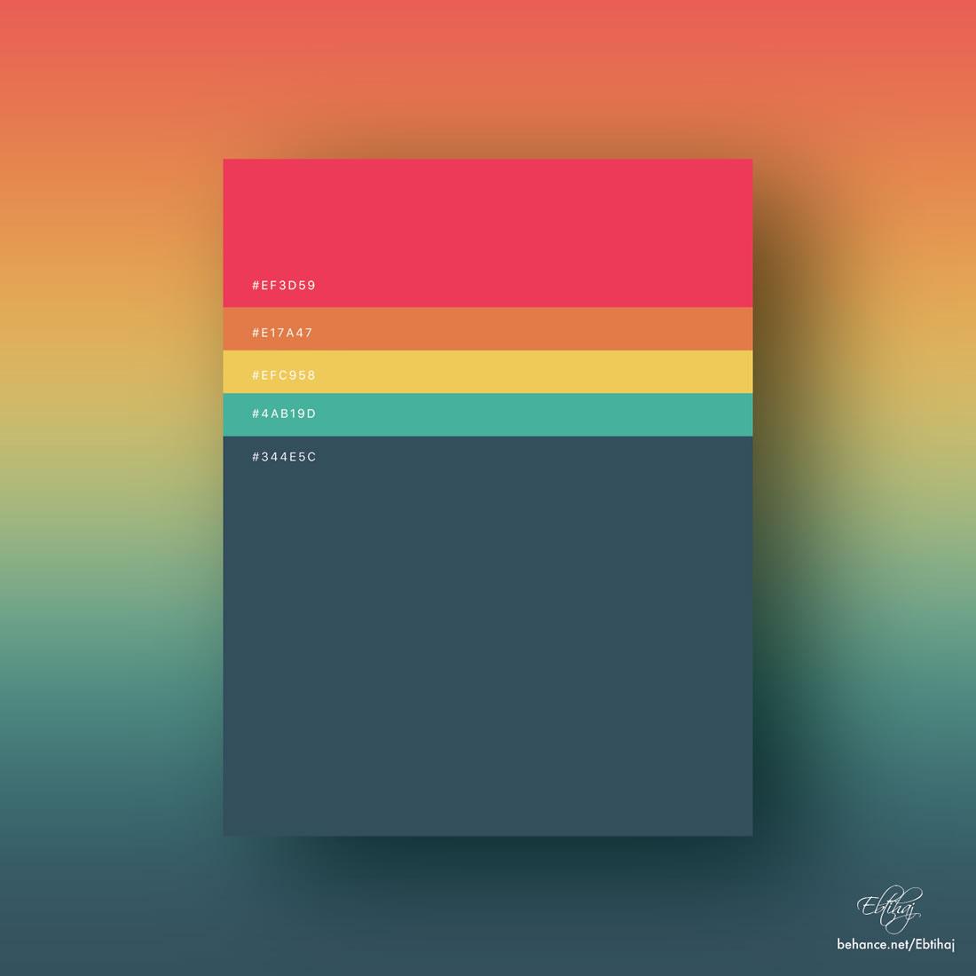 Inspiration - Des palettes de couleurs pour vos prochains projets web 9