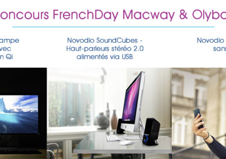 [Terminé] Concours : MacWay offre des cadeaux Design pour la FrenchDay