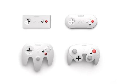 Manettes Nintendo revues minimalistes et design 1