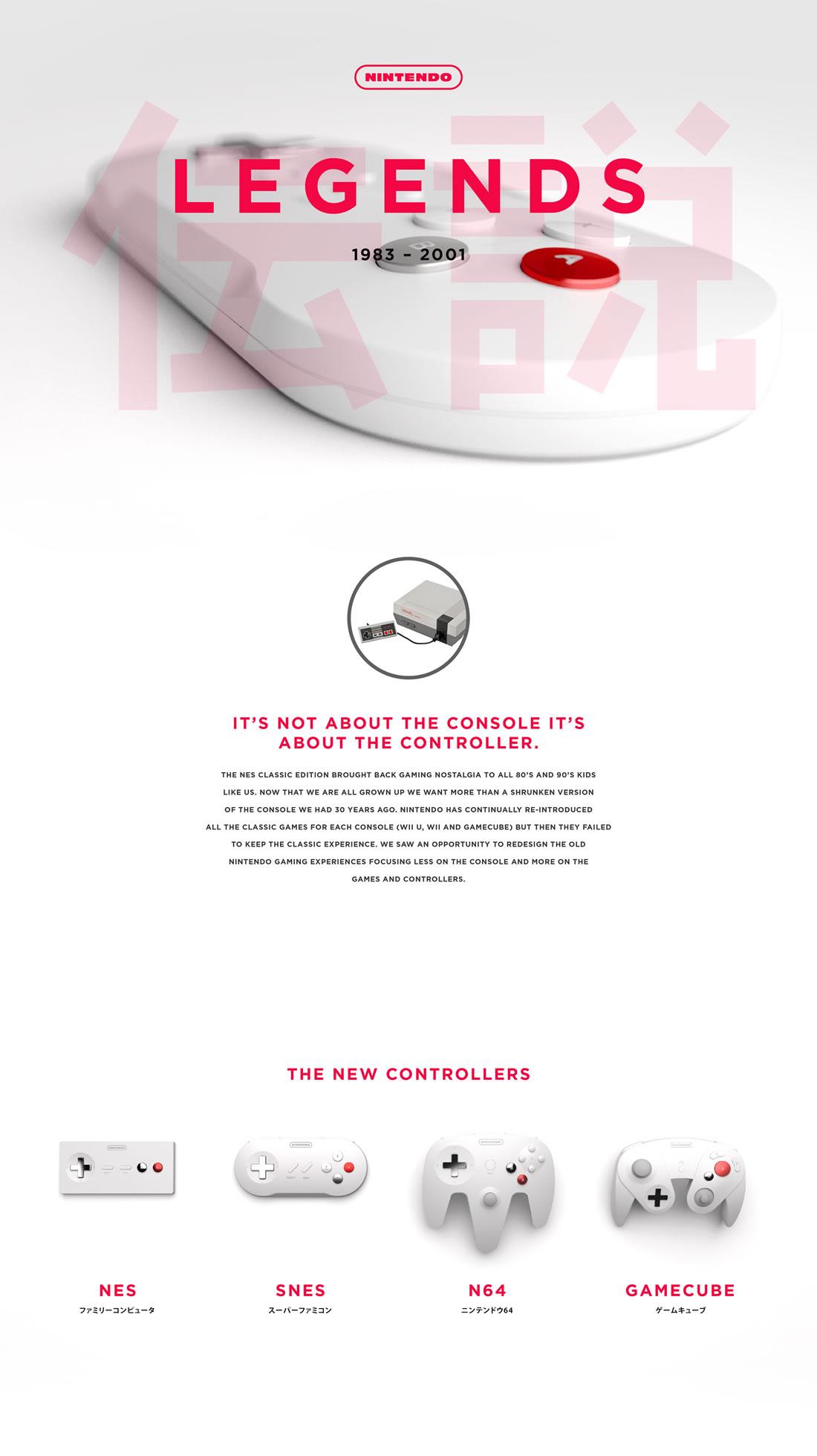 Manettes Nintendo revues minimalistes et design 6