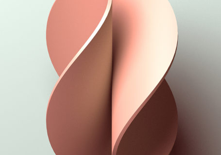 Des posters avec un effet de 3D juste avec des couleurs