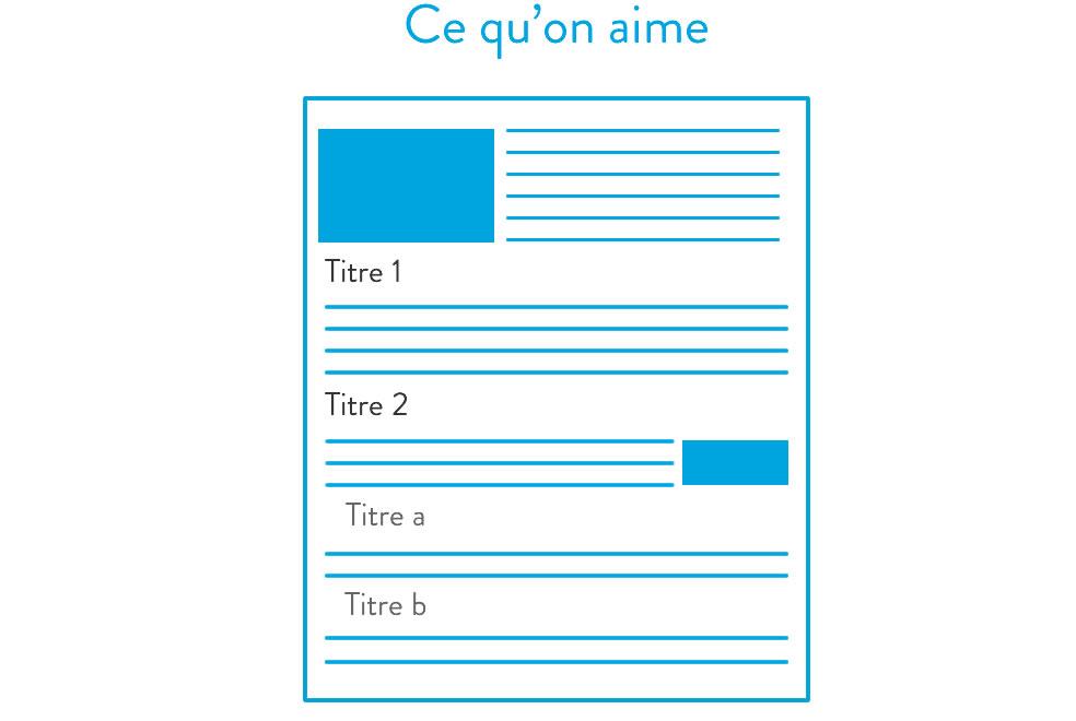 4 idées UX Design - L'utilisateur de ne lit pas, il scan ! 3